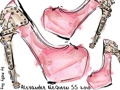 Alexander McQueen Pumps by FrenchiePig