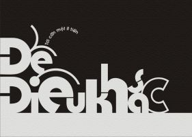 My vietnamese typography 2 by HiepHD