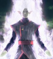 The birth of Merged Zamasu by AbelVera