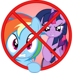 Icon for a 'NSFW Folder' by RainbowDashie