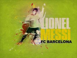 Lionel Messi FC BARCELONA by rollr