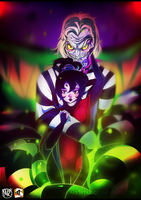 Beetlejuice and Lydia by Mr5star