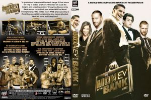 WWE Money in the Bank 2012 DVD Cover V2 by Chirantha