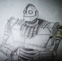 The Iron Giant by xxMoonwish