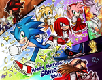B-DAY SONIC by LeonS-7