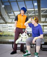 Digimon Tamers: Towards Future by xYaminogamex