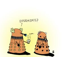 Dalek Love by Dankrakulus