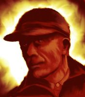 Ed Gein - Painted in GIMP by ronnietucker