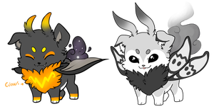 Spoopy cloudtail adopts 300 by AlphaStars