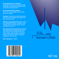 Blue Needle Label by Trudos