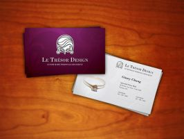 le tresor logo design by plaxx by designerscouch