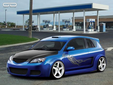 Mazda 3 ODYAR by Deviantwheels