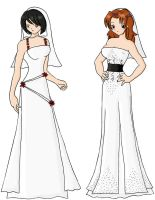 Wedding Dresses 01 by tseon