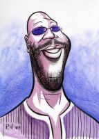 Isaac Hayes by Phostex