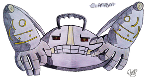 This is a Clampbot by Dr-Blenkaz