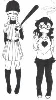 Fem!Batter And Fem!Zacharie by Animeprincess1990