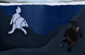 Fishing in the Deep by evil-firewolf
