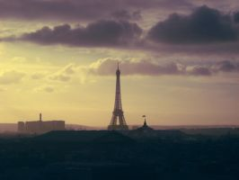 Paris, the light city by MariaLalala