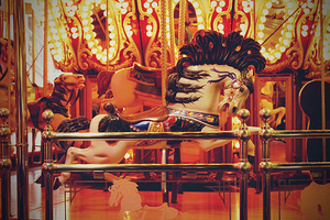 Carousel Horse by OpheliaRisen