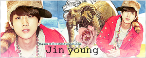Jin young B1A4 by h-r158