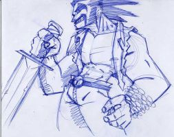 lobo sketch by dokrobei