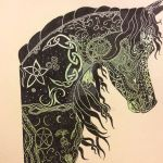 Pagan Celtic Horse by sharshar27