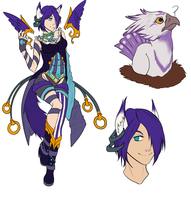 Hatched adopt (01 from 04) - The Dancer by Astaras-Adopts