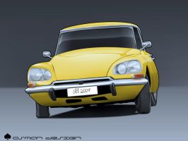 Citroen ds toon by Osman-Design