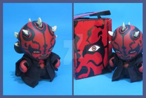 Darth Maul MUNNY by ibentmywookiee