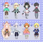 [CLOSED] Fantasy Themed Adopts [Points] by Jeera97