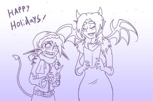 Happy Holidays! by skull-boy666