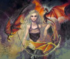 Mother of Dragons by Hooooon