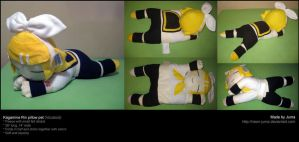 Kagamine Rin pillow pet by Neon-Juma
