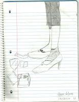 Letters and notes and feet XD by YoriYakushi