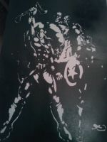 Avengers Stencil by DMSpray