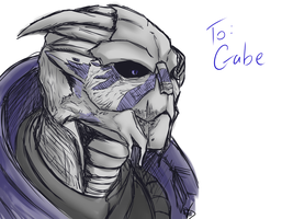 ME- Garrus request by HoneyAppleNinja