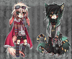 Mechanical Kemono Dolls [CLOSED] by nerinrin