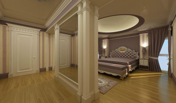 classic bedroom by gokiyan