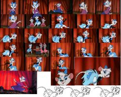 Miss Kitty Mouse Shots by GreenSkullplz
