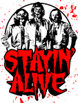 Stayin' Alive: Zom-Bee Gees by BiggStankDogg