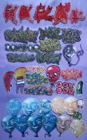 Sticker Combo Pack 2012. by WladART