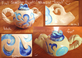 Mrs. Potts Fancy Porcelain Cousin by Lemoa