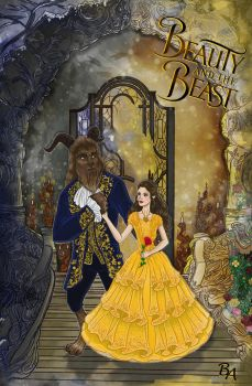 Beauty and Beast by BrunoArauto09