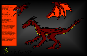 Young Sinkraloth Reference Sheet by Kerian-halcyon