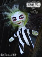 Mini Beetlejuice Plushie by tavington