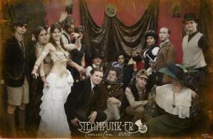 Comic Con Paris 2012 - Steampunk Booth [15/15] by LadyAzurFromAlkemya
