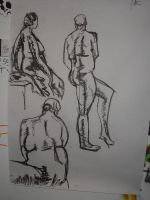 Life drawing 3 by heely