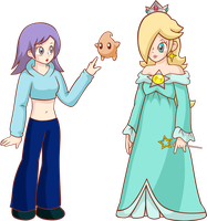 PC - Rosalina and Kiera by LudiculousPegasus