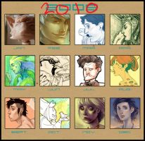 2010 Art Summary by No-Nami