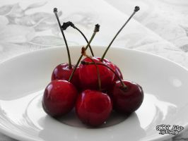 Cherries by annafilip